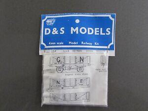 "D & S Models ""OO""  GNR 10 ton open wagon kit."