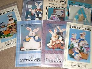 RABBIT & Easter SEWING PATTERNS