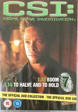 CSI: Disc 7 (1.13 Boom, 1.14 To Halve & To Hold) Official UK DVD (Free Post)