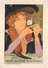 Salon des Cent Exposition d'Artby Georges de Feure 90cm x 64cm Art Paper Print