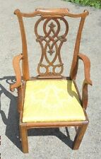 fine antique carved salesman sample chippendale dining room chair