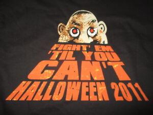 """2011 ANTHRAX """"Fight'Em 'Til You Can't"""" Concert HALLOWEEN (LG) T-Shirt SCOTT IAN"""