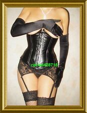 Leather Corset REAL DEAL Underbust with Steel Bones