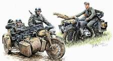Master Box 1:35 3548: Deutsche Kradschützen, Motorrad + 4 Figuren
