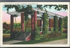c1920 The Rostrum The Gettysburg National Cemetery Pa Civil War Postcard