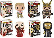 Funko POP! Movies ~ FLASH GORDON VINYL FIGURE SET ~ Ming, Klytus, Vultan, Flash