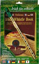 WALTONS Irish Tin Whistle Mellow D mit Lehrheft & CD