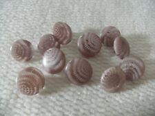 8 Light Pink Shank Buttons 14mm L0024 AUSSIE SELLER