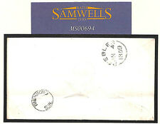 MS694 1859 Surrey 'Richmond SW' UDC London Thimble receiver SG.40 - Peebles
