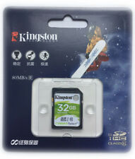 TARJETA MEMORIA SD 32GB KINGSTON CLASE 10 32 GB ORIGINAL SDHC HC Card KD32C10
