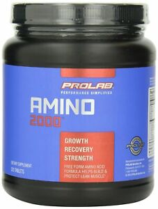 Prolab Amino 2000 Tablets 325 tablets EXP 1/31/2020