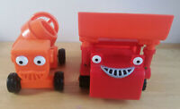 Bob the Builder Push Along 'DIZZY' Cement Mixer & 'MUCK' Kids toys