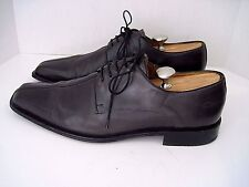 Mezlan Custom 'SOLOMAN' Black Leather Oxfords Size 13 M  $448