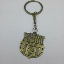 1PC FC Barcelona Bronze keychain FCB Keyring Soccer Key Chains