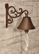 Metal Cast Iron Weatherproof Antique Door Bell Wall Mounted Decoration Doorbell
