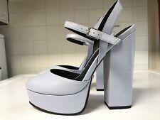 ASOS Collection Prosper Platform 6 Inch Heels Light Blue Used Size 7