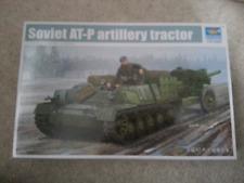 trumpeter soviet at-p artillery tractor