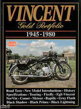 Vincent HRD Road Test Book 1945-80 Comet Meteor Rapide Black Shadow Egli *NEW