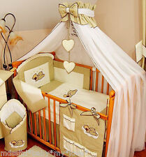 STUNNING /BABY/COT/COTBED BIG CANOPY DRAPE/300cm wide + FREE STANDING HOLDER/ROD