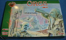 DARK ALLIANCE - ORCS (SET 3). 1/72 SCALE UNPAINTED PLASTIC FANTASY FIGURES