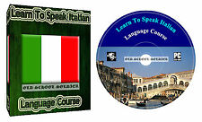 Learn to Speak Italian Language Training Course on DVD disk  MP3 & TEXTS