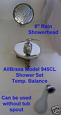 Single Lever Shower Tub Set Pressure Balance Free Shipping Rain Showerhead 945CL
