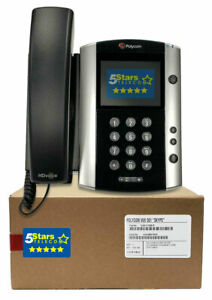 Polycom VVX 501 Skype for Business Edition (2200-48500-019) Renewed, 1 Year Warr