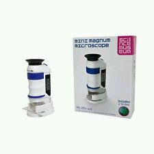 Science Museum Mini Magnum Pocket Microscope includes 2 Slides, GIFT KIDS • 48 H