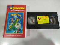 Peter Pan Walt Disney - VHS Cinta Ingles con Subtitulos en Ingles - 2T