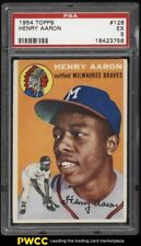 1954 Topps Hank Aaron ROOKIE RC #128 PSA 5 EX (PWCC)
