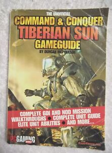 75891 The Unofficial Command & Conquer Tiberian Sun Game Guide Magazine 1999