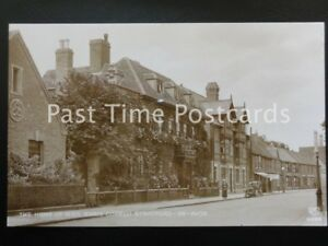 c1930 RP - Home of Miss Marie Corelli, Stratford on Avon - showing period car