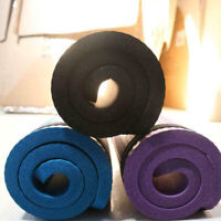 24''x10'' Ultra Thick Non-slip Yoga Mat Pad Exercise Fitness Pilates Strap