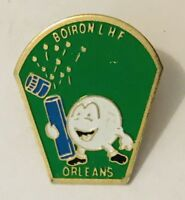 Boiron LHF Orleans Advertising Pin Badge Vintage (C24)