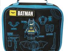 Neuf Officiel Batman Film LEGO Garçons Nursery School Lunch Sac isotherme