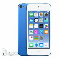 Apple iPod Touch MKWP2LL/A 128GB 6th Generation-Blue w/ Accessories Refurbished