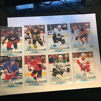 2019-20 UPPER DECK YOUNG GUNS SERIES 1 LOT OF 8