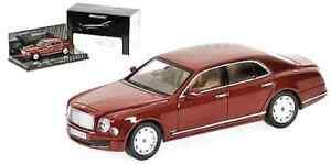 Bentley Mulsanne 2010 MINICHAMPS 1/43 Ed.ltda. 2016u