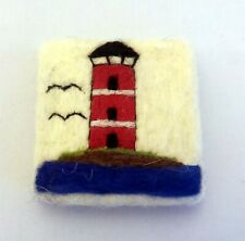 Natural soap with virgin wool covered, decorative needle felted hand made