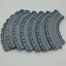 """Thomas Friends Train Take Along N Play 6"""" CT Curved Track Set Bundle of 7"""