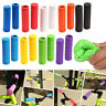 Colourful silicone bike bicycle handlebar grips MTB XC BMX