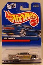 Hot Wheels 2000 Card #116-  '59 Chevy Impala Silver