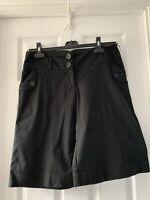Next Women's Size 10 Black Shorts. Used VGC