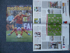 SPAIN v FRANCE 16.10.2012 FIFA World Cup Brazil 2014 Q programme España Francia