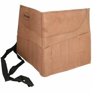 12 Pocket Leather Tool Pouch Roll Holder Pocket Cover TE027