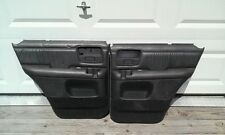 CHEVY S-10 BLAZER/JIMMY POWER DOOR PANELS (BLACK) OEM (REAR)1995,1996,1997