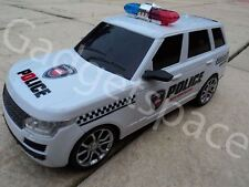 Police Range Rover Radio Remote Control Car 1/16 - Rc Car SIREN Lights