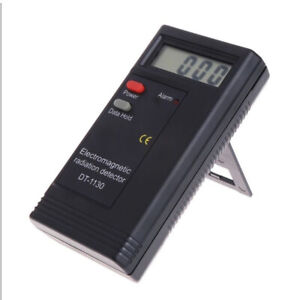 Electromagnetic Radiation Detector LCD Digital EMF Meter Dosimeter Tester DT1B_R