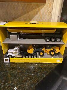 NEW John Deere 544L Wheel Loader w/Freightliner 122SD Semi & Dump Trailer  71778