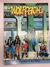 1st Printing Marvel 1987 NEAR MINT NEW UNREAD Wolfpack Graphic Novel #31